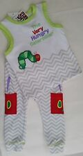THE VERY HUNGRY CATERPILLAR Licensed singlet tank top + leggings set NEW 000-1