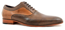 Gucinari AMP-018 Arka Brown Oxford Lace-Up Men's Shoes