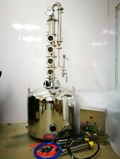 Moonshine reflux still - 53 gallon jacketed - Free controller - Turnkey! - SALE!