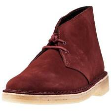 Clarks Originals Desert Boot Mens Chukka Boots Brown Suede New Shoes