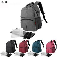 Large Baby Diaper Nappy Changing Rucksack Mummy Stroller Hanging Bag Backpack
