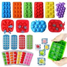 Silicone Rubber Ice Cube Tray Freeze Mold Bar Jelly Pudding Chocolate Mold Maker