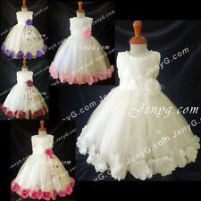MFI6 Baby Girls Christening Baptism Formal First Holy Communion Prom Gown Dress