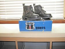 Motorcycle Boots River Road Crossroads Buckle Womens Black