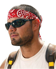 Chill-Its 6700 Evaporative Cooling Bandanas, 8 in X 13 in, Solid Blue
