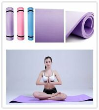 """6mm Thick Non-Slip Yoga Mat Exercise Fitness Lose Weight 68""""x24""""x0.24"""" B1"""