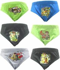 Ben 10 Boys 6 Pack Briefs / Underpants Age 3-8 Years Available