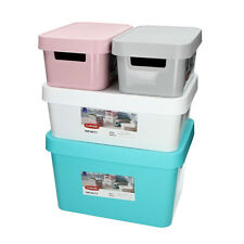 Curver Infinity Storage Box with Lid Various Sizes Colours Decor Box Box Crate