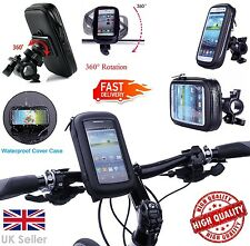 New 360 Waterproof Bike Mount Bicycle Holder Case Cover All Samsung Galaxy Phone