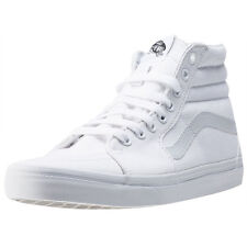 Vans Sk8-hi Womens Trainers White White New Shoes