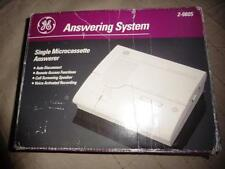 Vintage GE 2-9805 Answering machine system micro cassette electronics telephone