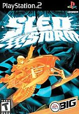 Sled Storm (Sony PlayStation 2, 2002) Black Label PS2 Game Complete