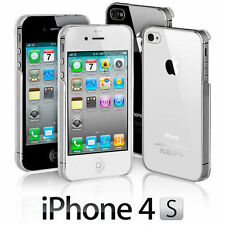 New Stylish Slim Crystal Clear Case Cover For Apple iPhone 4 4S 5 5S & iPhone SE