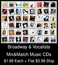 Broadway & Vocalists(1) - Mix&Match Music CDs @ $1.99/ea + $3.99 flat ship