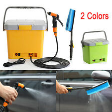 Outdoor 20L Water Fed System Pressure Washer Car Washing Brush Cleaner Equipment
