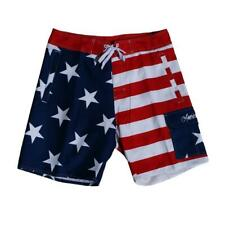 USA American Flag Stars and Stripes – Men's Board Shorts – Red White Blue