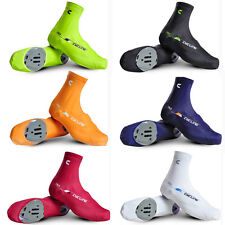 Unisex Bike Cycling Shoe Covers Rear Zipper Bicycle Overshoes Windproof 6 Colors