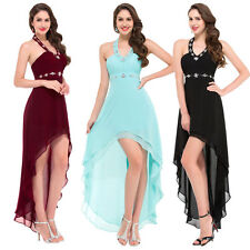 Women High-Low Ball Gown Prom Party Formal Evening Homecoming Bridesmaid Dresses
