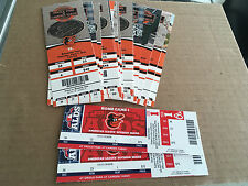 2012 Full Tickets Baltimore Orioles YOU PICK ONE GAME Manny Machado Thome 2/2