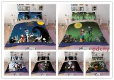 The Nightmare Before Christmas Duvet Cover Set Flat/Fitted Sheet Set Bedding Set