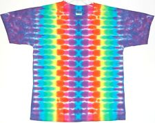 Youth TIE DYE Neon Rainbow DNA T Shirt kids 2-4T 6-8 10-12 14-16 grateful dead