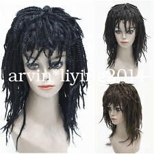 2017 Curls Hair Hand Braided wig Kinky Twist Dreadlock fancy dress cosplay wig