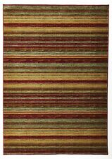 NEW Petra Rustic Stripped Rug