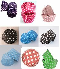 360 Polka Dot Spotty CUPCAKE CASES Muffin Baking  Party liners
