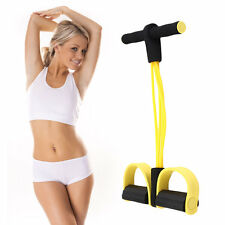 Four Elastic Band Fitness Resistance Exercise Equipment for Yoga Workout VE