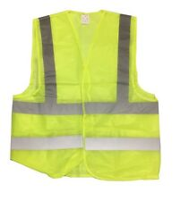 XXL ANSI CLASS 2 Bordered High Visibility Reflective Tape / Safety Vest Mesh