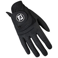 FOOTJOY MENS WEATHERSOF RIGHT HAND GOLF GLOVE - NEW FJ LOGO LEATHER LEFT HANDED