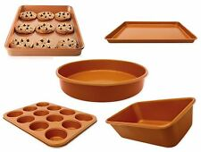 New Gotham Steel Copper Baking Pan Ti-Cerama Nonstick Oven Cookie Sheet Cake