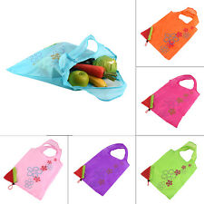 1 pc Strawberry Foldable Shopping Bag Tote Reusable Eco Friendly Grocery Bag VE