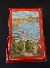 Vtg Playing Cards Advertising SCARBOROUGH Seaside North Yorkshire Castle Spa Box