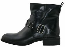 FLY LONDON Fiba Slip-on ankle boots Leather black anthracite 168829