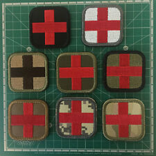 Paramedic Medic Cross EMT EMS Army Military Tactical Combat Morale Medical Patch