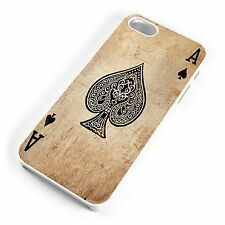 Ace Of Spades Playing Card Gothic Quirky Cool iPhone Range Hard Cover Case
