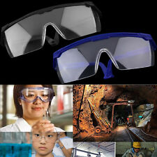 New Safety Eye Protection Glasses Goggles Lab Dust Paint Dental Industrial VE