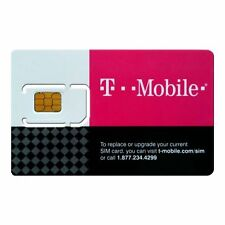 $50/$60/75 Plan Preloaded T-Mobile Mexico Canada Prepaid Sim Card  Activated!!!