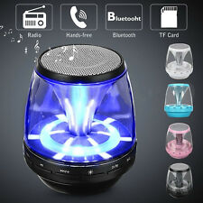 New Portable Mini Bluetooth Speaker Wireless Rechargeable Bass For Smartphone PC