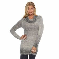 Women's AB Studio Ombre Cowlneck Tunic Sweater - MSRP $50 - FREE SHIPPING!