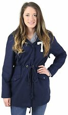 Tommy Hilfiger Girls 7 – 16 Parka Anorak Coat Jacket Varsity Hooded S M L Blue N