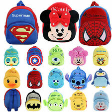 Kids Girls Boys Children Baby Toddler Backpack Cartoon Schoolbag Small Mini Bags