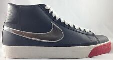 Nike Blazer High Anthacite Silver Black Sneakers Shoes 315877 001