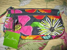 Vera Bradley NWT Wristlet in Jazzy Blooms ~ Outlet Version