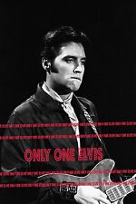ELVIS PRESLEY on TELEVISION 1968 Photo NBC COMEBACK SPECIAL Jammin'