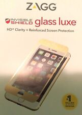 NEW! ZAGG Invisible Shield Glass LUXE Screen Protector iPhone 6 PLUS / 6S PLUS +