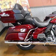 Velocity Red Sunglo King Tour Pack Pak Trunk Fit 14 -17 Harley Davidson Touring