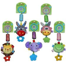 Baby Infant Rattle Teether Plush Animal Stroller Music Hanging Bell Toy Soft