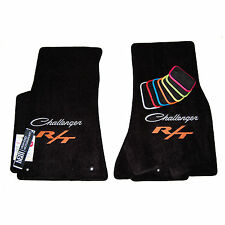 Dodge Challenger Classic R/T Floor Mats - Scat Pack - R/T Plus Shaker - 2PLY USA